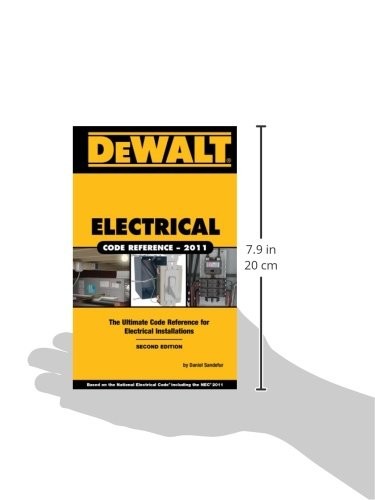 DEWALT Electrical Code Reference: Based on the 2011 National ...
