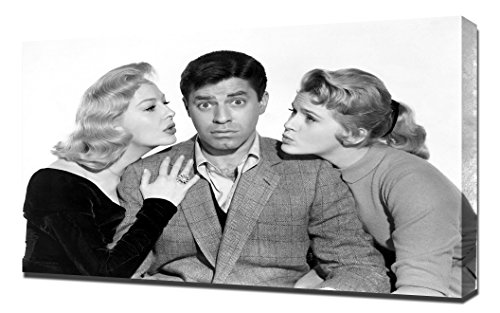 Baby Rockabye Furniture (Martin and Lewis (Rock-a-Bye Baby)_01 - Canvas Art Print)