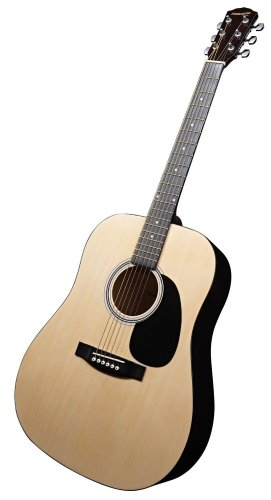 Fender Starcaster Acoustic Guitar Pack with Accessories - Natural