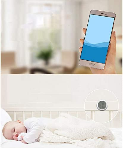 Kamenda Zigbee 3.0 Temperature Sensor Tuya and Smart Life App Control Temperature and Humidity Sensor