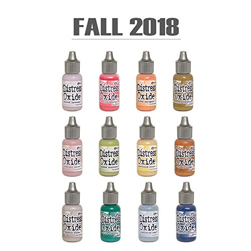 Ranger Tim Holtz Distress Oxide Reinker Set Of 12 (Fall 2018)