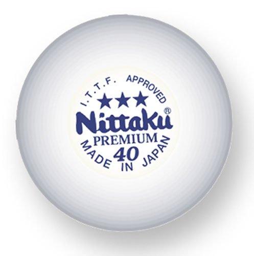 - Nittaku Premium 3-Star Balls Celluloid