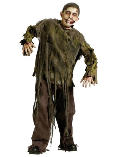 Dark Zombie Child Costume Size 8-10 Medium (Undead Nightmare Costumes)
