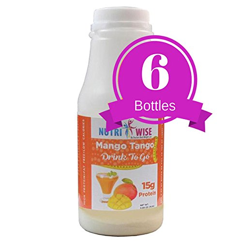 NutriWise - Mango Tango High Protein Diet Drink (6/bottles)