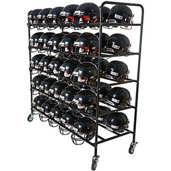 Pro Down Football Helmet Cart