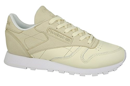 Reebok Mujeres Calzado / Zapatillas de deporte Classic Leather Sea You Later beis