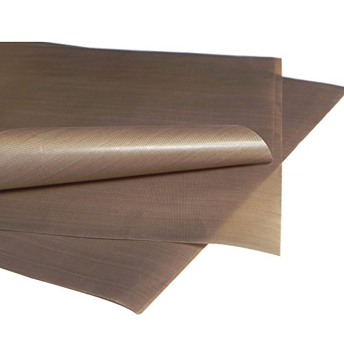 "Xinghoo 15"" x 15"" Sublimation Heat Resistant Teflon PTFE Sheet 5Mil Thickness for Heat Press Transfers Pack of 5"