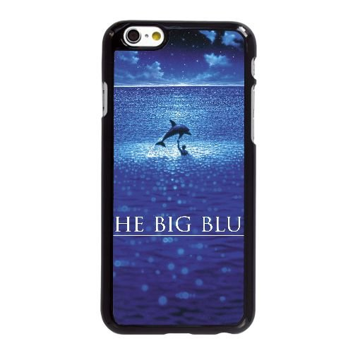 D3C71 Le Grand Bleu Haute Résolution Affiche L3W7KR coque iPhone 6 4.7 pouces Cas de couverture de téléphone portable coque noire DJ5MQW4EN