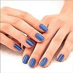 Lakmé 9 to 5 Primer + Gloss Nail Colour, Indigo Ink, 6 ml
