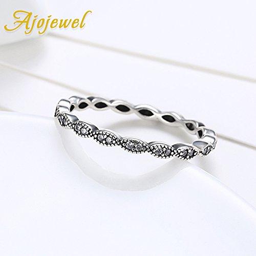 Dudee Cubic Zircon Thin Silver Women womens engagement rings womens fashion rings
