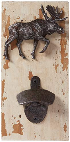 River's Edge Products Rustic Moose Bottle Opener