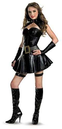 Disguise Womens Gi Joe Baroness Sassy Fancy Dress Theme Party Halloween Costume, S (4-6) -