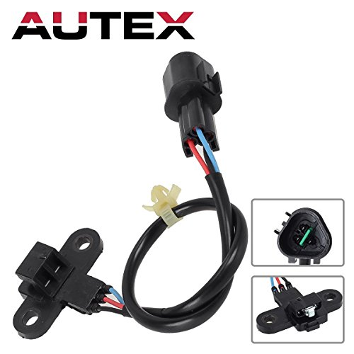 AUTEX Crank Crankshaft Position Sensor 1800282 MR578312 SU5894 PC424 Compatible with Dodge Stratus 2001-2004/Chrysler PT Cruiser 2003-2004/Chrysler Sebring 2002-2005/Mitsubishi Eclipse - Crankshaft Mitsubishi