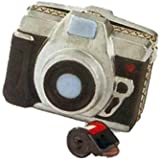 """Porcelain Hinged Box (PHB) - """"35mm Camera with Roll of Film"""" by Midwest"""