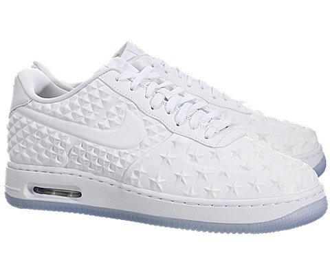 Nike Air Force 1 Elite QS (All-Star) - White / Chrome-White, 10.5 D US