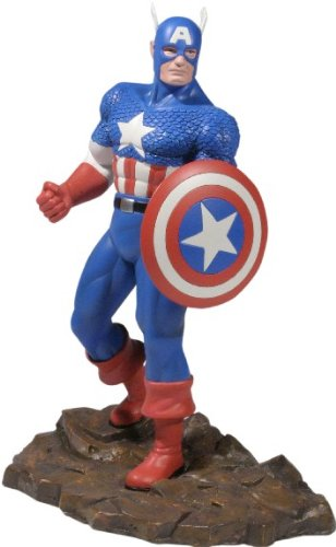 Marvel Diecast Captain America 1/12 Scale Statue