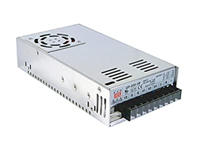 [PowerNex] Mean Well QP-200D 5V +/-12V 24V 0.7A 3A 4A 15A 203.4W Quad Output with PFC Function Power Supply