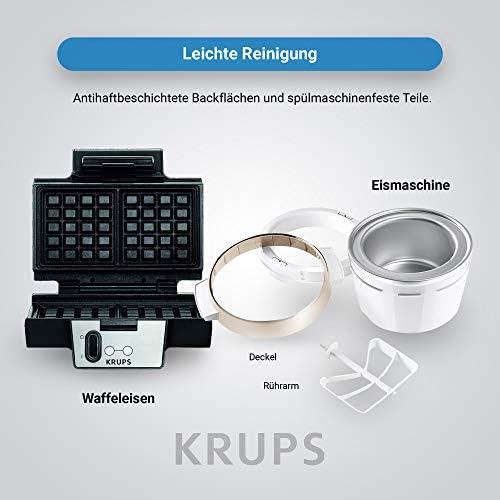 Krups FDK 251 + GVS241 - Heladera de 1,6 L para helados con ...