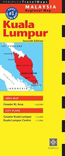 Kuala Lumpur Travel Map Seventh Edition (Periplus Travel Maps)