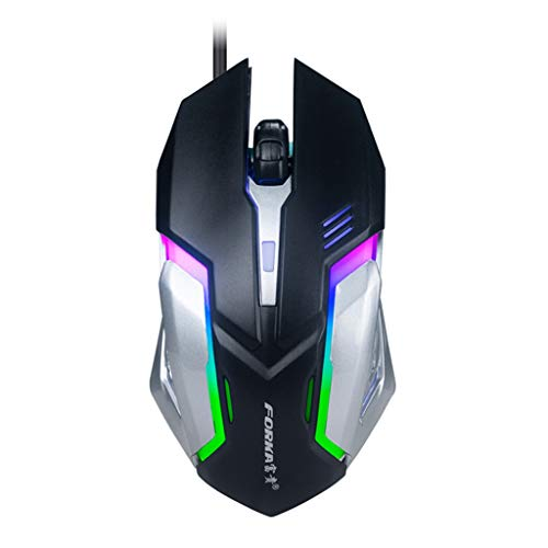 Kay Cowper LED Wired Gaming Mouse Professional 4 Buttons 1600DPI Adjustable Optical Mice