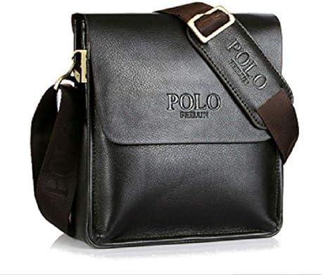Mens Bag Classic Retro Leather Mens Briefcase Business Bag Composite Casual Shoulder Bag Messenger Bag
