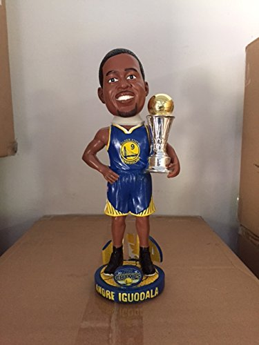 Andre Iguodala Golden State Warriors Mvp Nba Champions Bobble Head by Forever Collectibles