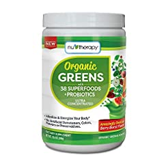Nu-Therapy Organic Greens Superfood Powd...