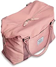Womens travel bags, weekender carry on for women, sports Gym Bag, duffel bag, overnight shoulder Bag fit 15.6