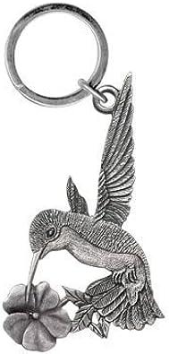 Hummingbird Keychain Pewter
