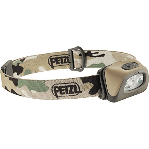 PETZL - TACTIKKA + Headlamp 160 Lumens, Camo