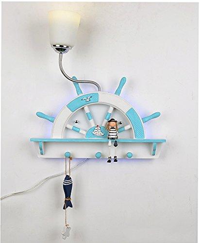 Chen Moderne Kinderzimmer Junge Mädchen Nachttisch Schlafzimmer Lampe kreative Licht Wandleuchte