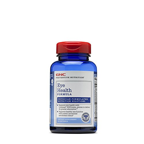 Gnc Preventive (GNC Preventive Nutrition Eye Health Formula)