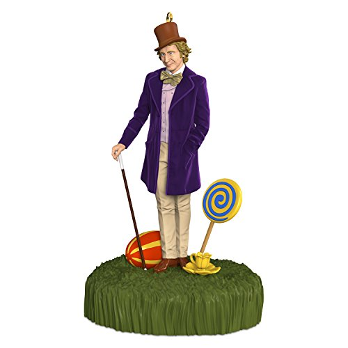 Hallmark Keepsake 2017 Willy Wonka and The Chocolate Factory Sound Christmas Ornament (Willy Wonka And The Chocolate Factory 2017)
