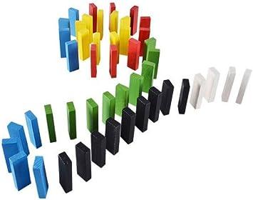 Torre de madera bloquea ImagineLimitless | Bloques de madera apilado tablero juegos caer torre set de juego - 54 piezas juguete educativo para niños: Amazon.es: Juguetes y juegos