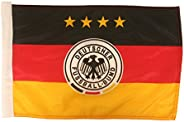 """Germany Deutschland Picture Logo Heavy Duty Car Flag 12""""X18"""" with Sleeve Without"""