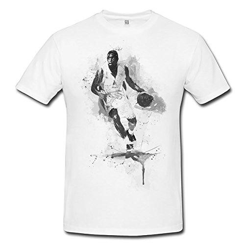 Basketball II T-Shirt Herren, Men mit stylischen Motiv von Paul Sinus