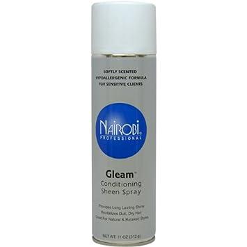Amazon Com Nairobi Gleam Conditioning Sheen Spray 11 Ounce Beauty Products Beauty