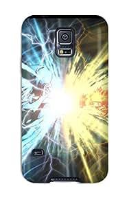 8027295K21397339 Tpu Case Cover Compatible For Galaxy S5/ Hot Case/ Sasuke Vs Naruto