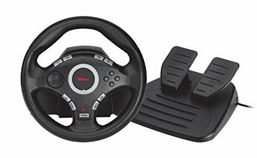 Trust GXT 27 Force Vibration Steering Lenkrad PC-PS3