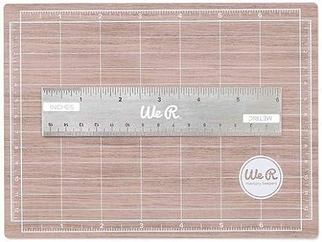 We R Memory Keepers Mini Base De Corte Magnética 12,70X15,24 Cm, Multicolor, Talla Única: Amazon.es: Hogar