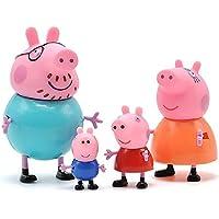 Orjinal Peppa Pig Oyuncak Figür 4'lü