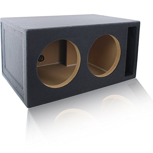 4.0 Cu. Ft. Ported / Vented MDF Sub Woofer Enclosure for Pair of 12