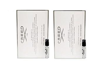 2-Pack Creed Aventus for Men Eau de Parfum 0.08 oz Vial On Card