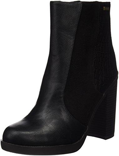 avec à Chaussures Negro MTNGC MTNG Collection Bout Petrolanum Talon Noir Femme fermé qBpFXx