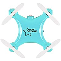 Chinatera Mini RC Drone with 3D Flip 2.4Ghz 6-Axis Gyro RC Quadcopter Toys for Christmas Gift (Blue)