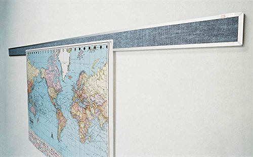 Tackboard Display Rails - 3 ft. Wide - Tackboard Display Rail
