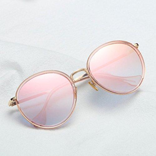 Lunettes Soleil pour de Red Lunettes de Femmes UV Mode Pink Soleil Wine Rétro Protection TangMengYun de Couleur Lunettes Color qdxAwt8pq
