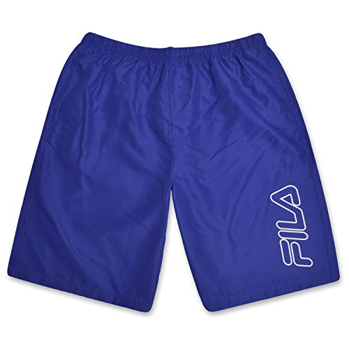 Fila Mens Big and Tall Nylon Athletic Shorts with Adjustable Drawstring Waistband