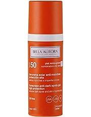 Bella Aurora Gel-Crema Solar Anti-Manchas Para Piel Mixta-Grasa SPF 50