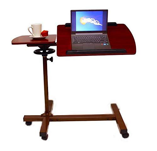 - Best Over Bed Table™, 360° Swivel, Largest Surface Area, 50° Two-Way Tilt, Lifetime Warranty, Overbed Adjustable Laptop Table with Wheels for Medical, Home, Office, School, Wheelchair, and More 61721N